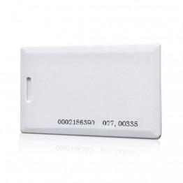 RFID бесконтактная смарт-карта с прорезью и номером толстая