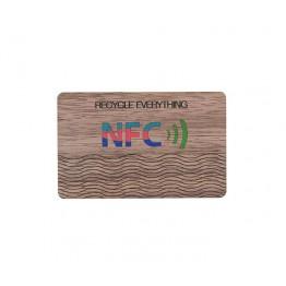 RFID Деревянная ключ карта прямоугольная