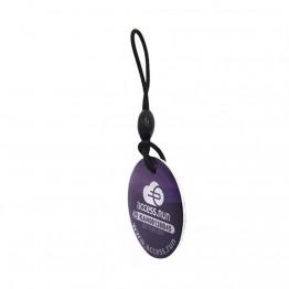 RFID эпоксидный брелок круглый 30х30 мм