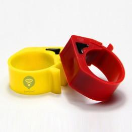 RFID метка кольцо на ногу для птиц