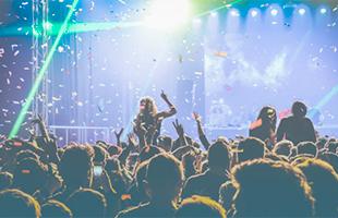Массовые мероприятия: концерты, фестивали, тренинги